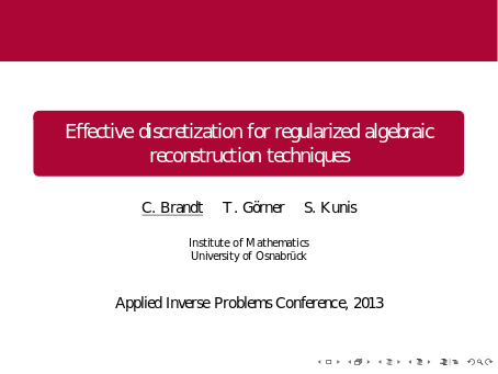 Slides of AIP 2013